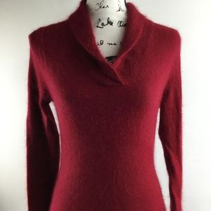 SARAH SPENCER Womens V-Neck Pullover Knit Sweater